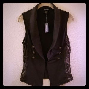 Wet Seal french terry vest